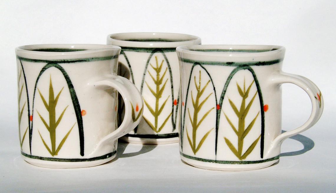 Debbie Prosser, Porcelain Mugs