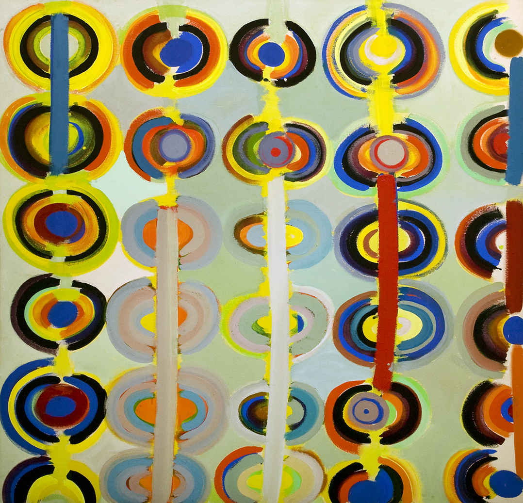 Terry Frost, 1915-2003, Autumn Rings Andeuze, September 1971, 1983