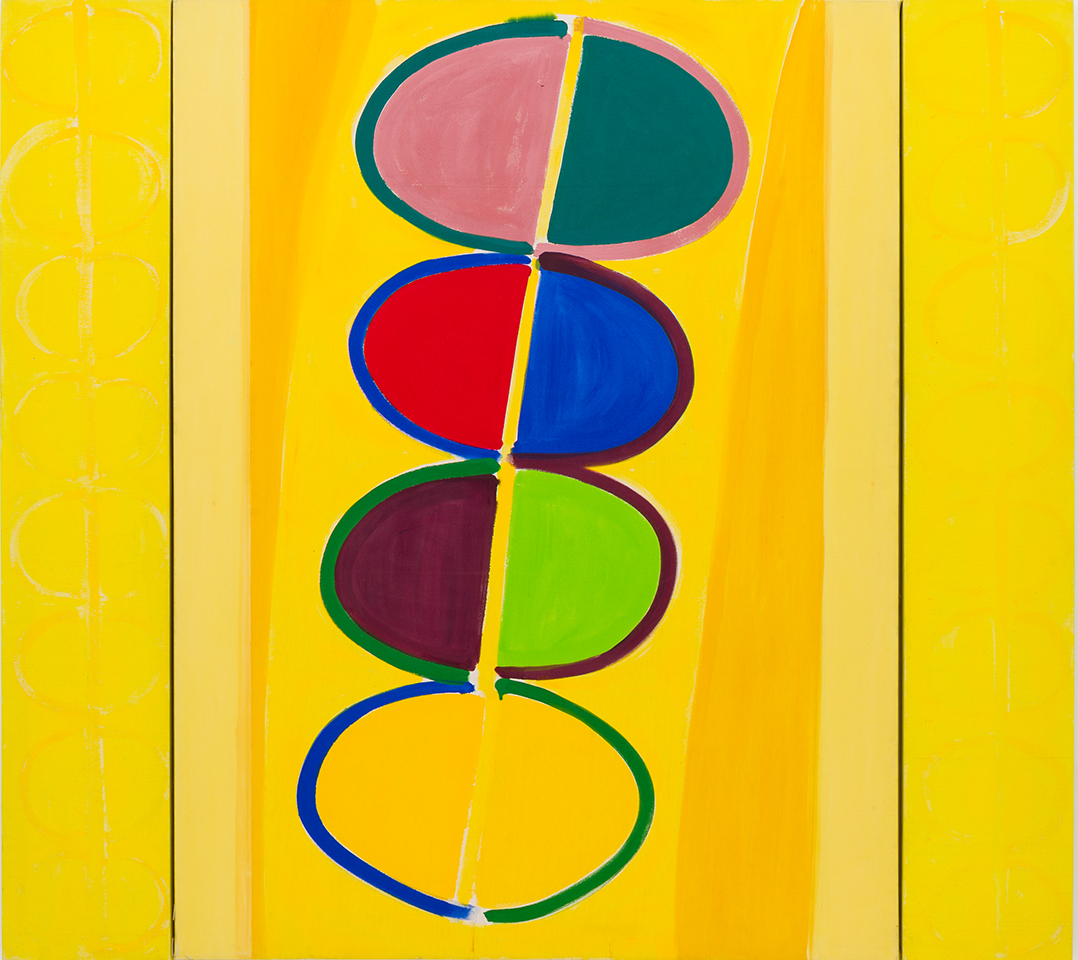 Terry Frost, 1915-2003, Yellow Moonship 1974