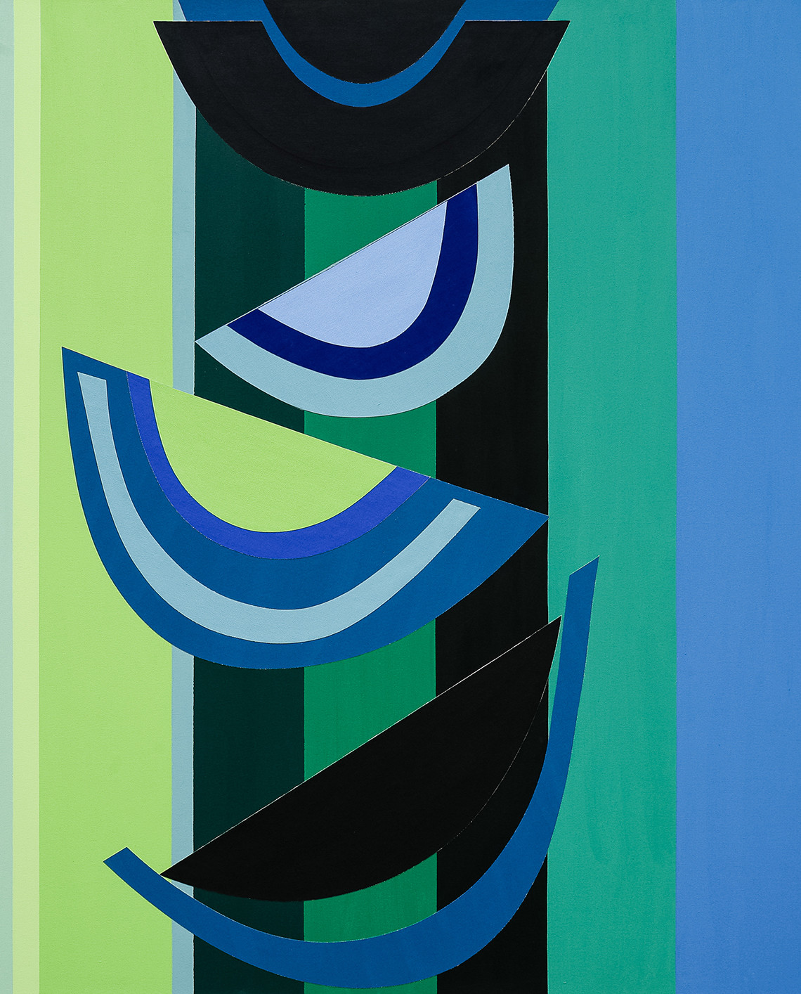 Terry Frost, 1915-2003, Green Below 2003
