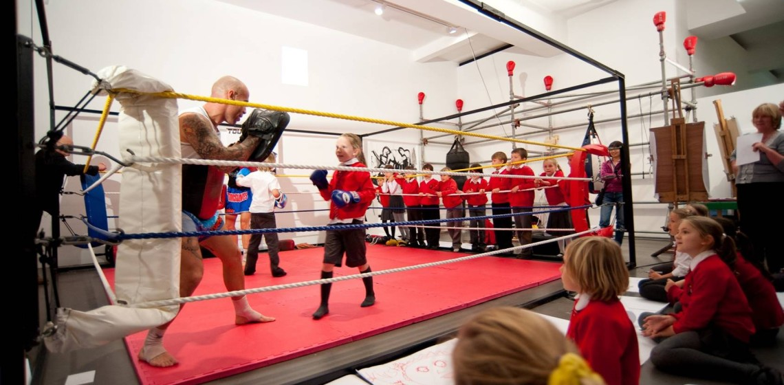 Alverton School Boxing Ring