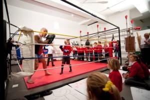 Alverton School Boxing Ring