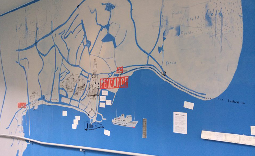 Sam Bassett Map of Penzance
