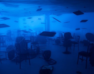 Mother, The Air Is Blue, The Air Is Dangerous. by Tim Shaw at The Exchange, Penzance