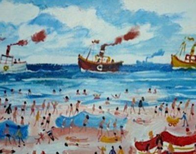 Simeon Stafford, Fishing Boats Leaving