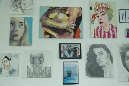 The Young People's Art Prize 2017 at The Exchange, Penzance