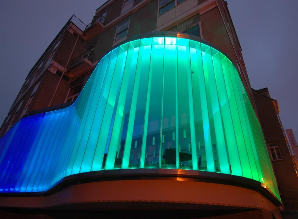 Glass Building Light : A certain kind of light major exhibition at the