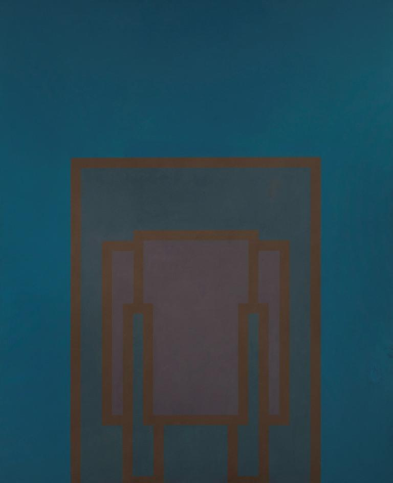 Painting By Day 4 1967 96 x 78 ins. 244 x 198 cm Acrylic on canvas