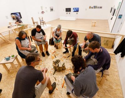 Craftschool Class at Newlyn Art Gallery