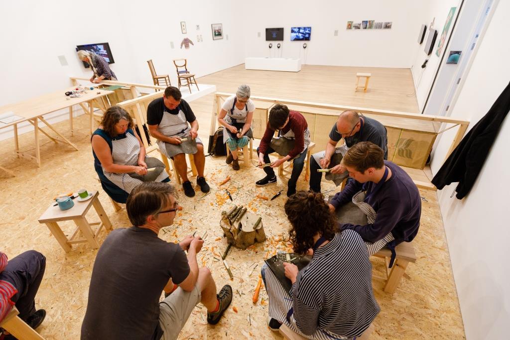 Craftschool Class at Newlyn Art Gallery