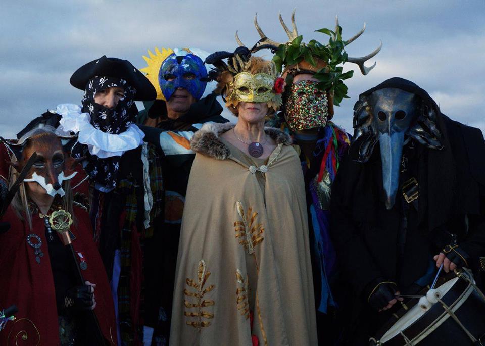 Montol mask making workshop at The Exchange