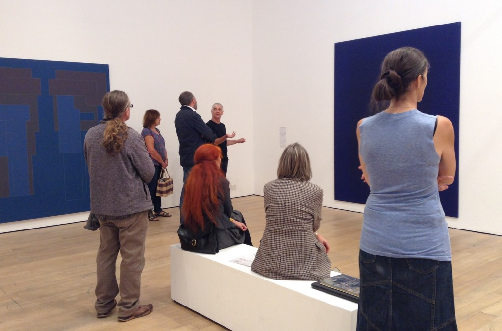 walk and talk tour of the Robyn Denny exhibition with Director, James Green.
