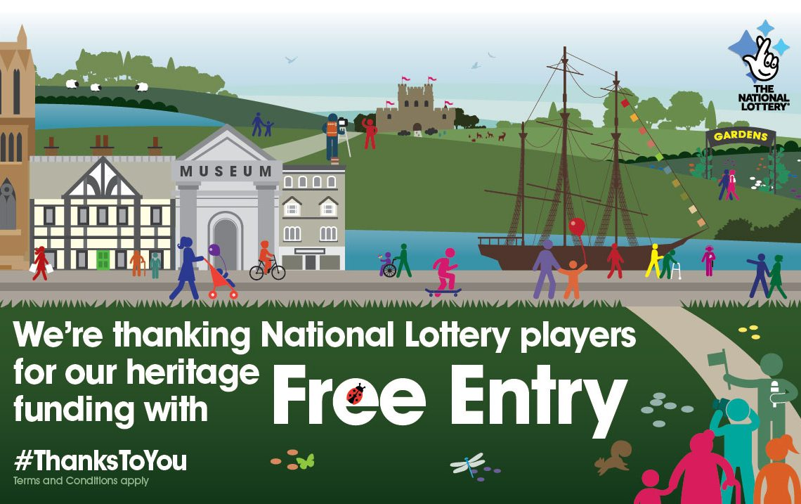 Free entry for National Lottery 'Thank You' campaign at Newlyn Art Gallery and The Exchange in Penzane