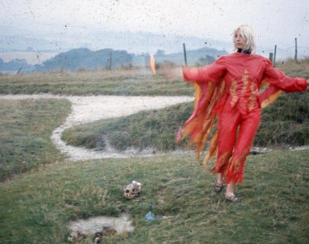 Jill Smith, Fire Ritual image at Newlyn Art Gallery