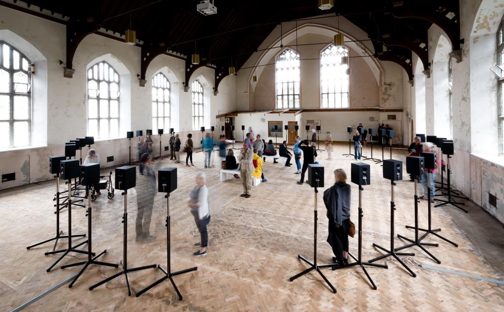 Forty Part Motet at Richmond Chapel., Penzance