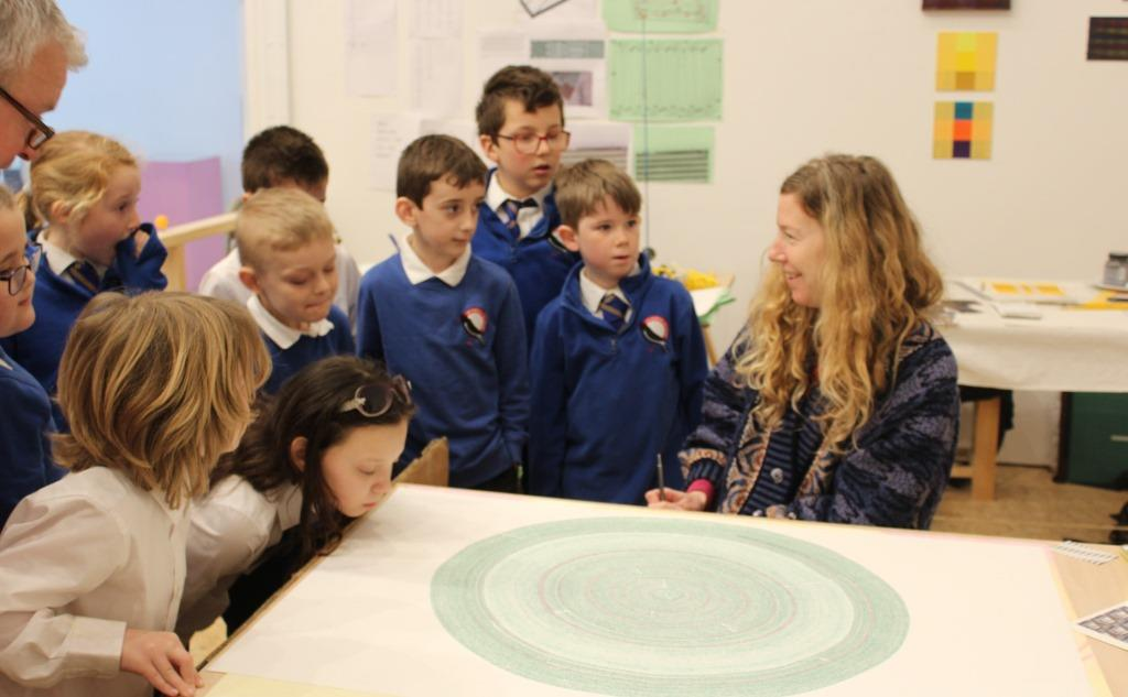 Artsmark activity at Newlyn Art Gallery & The Exchange