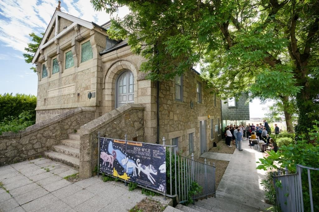 Exterior of Newlyn Art Gallery, photo by Steve Tanner