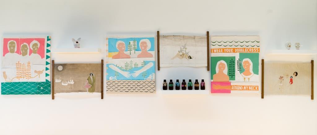 Ways Of Looking by Ali Corder & Elizabeth Loveday. In The Studio at Newlyn Art Gallery