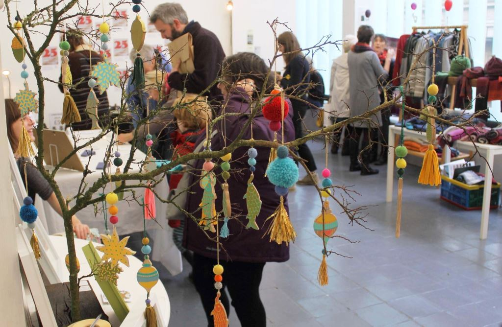 The Christmas Makers' Market at The Exchange. Penzance