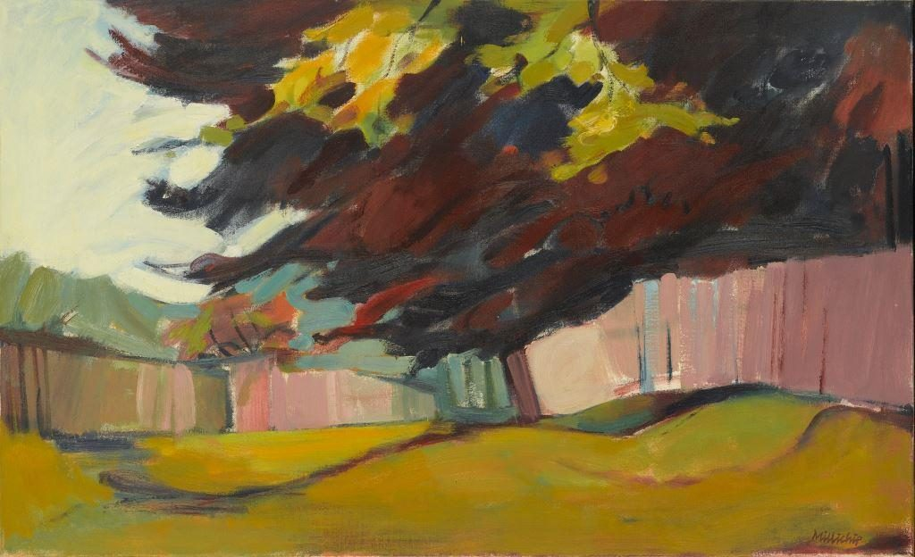 Paul Millichip, Oving Footpath, 1977. Arts Council Collection,